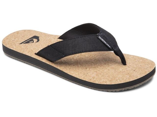 Quiksilver Molokai Abyss Nature Sandals Men, marrón